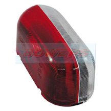 Jokon SPL2000 12.0012.000 Caravan Motorhome Red White End Outline Side Marker Light Lamp